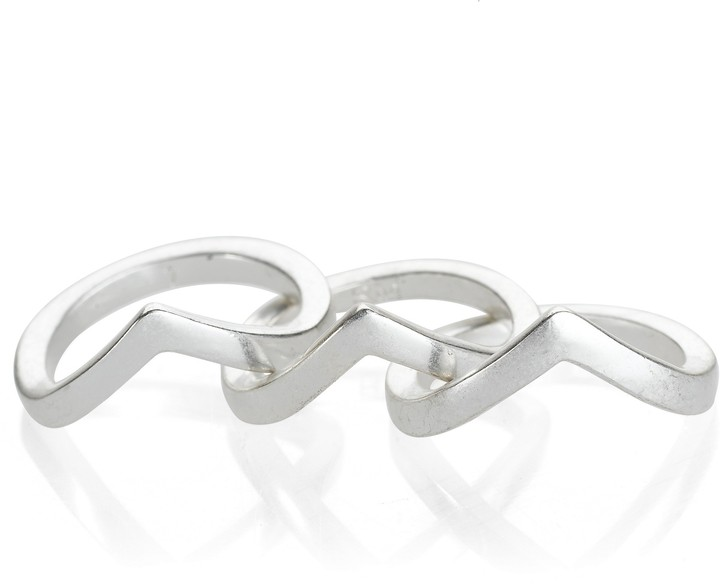 Rebecca Minkoff V Stackable Ring