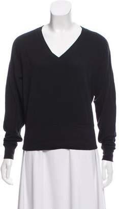 Rag & Bone Heavy Knit V-Neck Sweatshirt