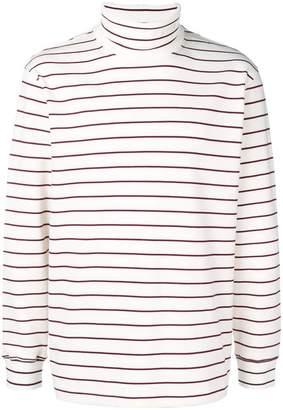 MSGM striped turtleneck sweater