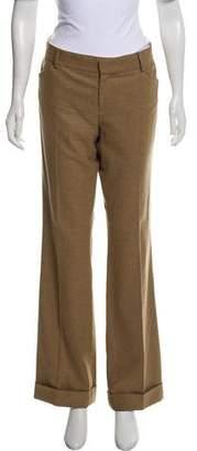 Ralph Lauren Black Label Wool-Blend Mid-Rise Dress Pants