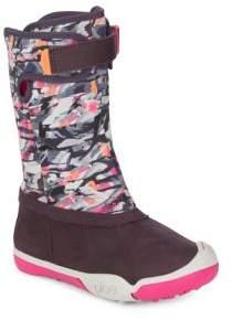Plae Round Toe Slip-On Boots
