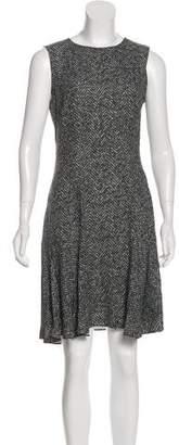 Michael Kors Abstract Print Knee-Length Dress