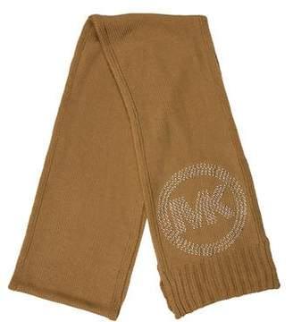 MICHAEL Michael Kors Logo Knit Scarf w/ Tags