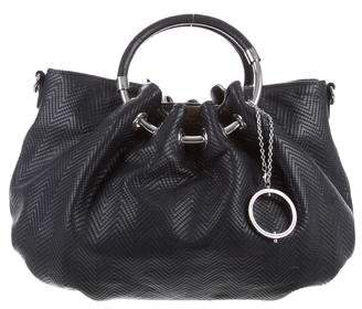 Philosophy di Alberta Ferretti Quilted Leather Ring Tote