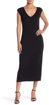 Philosophy Cashmere V-Neck Cap Sleeve Knit Dress