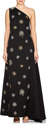 Osman Women's Orion Starburst-Embellished Crepe Gown