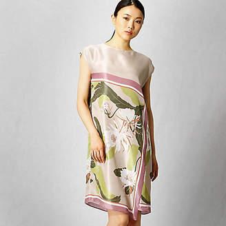 Artisan スカーフ柄 ドレス(0801OI01)