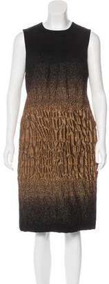 Prada Ombré Ruched Dress