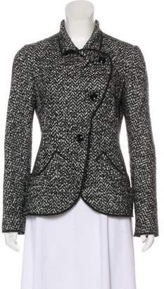 Armani Collezioni Lightweight Tweed Jacket
