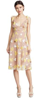 For Love & Lemons Women's Fruitpunch Sequin Midi Dress