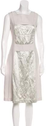Narciso Rodriguez Wool & Cashmere Midi Dress