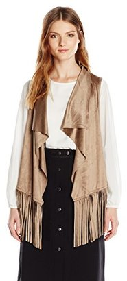 Design History Women's Suede Vest $20.17 thestylecure.com