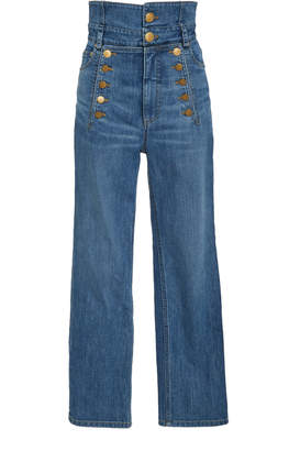Marissa Webb Lyle High Waisted Denim Pant