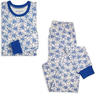 Burt's Bees Icy Snowflakes Organic Womens Holiday Matching Family Pajamas