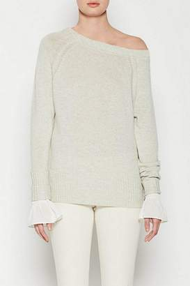 Brochu Walker Flores Off Shoulder Sweater
