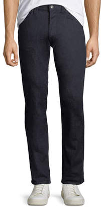 Emporio Armani Men's Stretch-Denim Jeans with Tonal Stitching