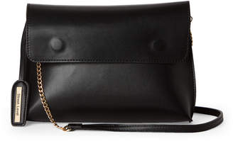 Street Level Black Flap Convertible Crossbody