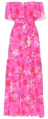 Athena Procopiou Melrose Sunset silk maxi dress