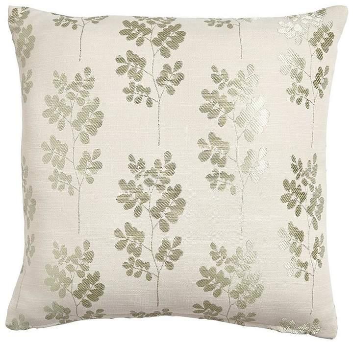 Shadow Leaf Woven Cushion