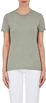 Barneys New York Women's Pima Cotton Crewneck T-Shirt - Army