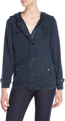 Max Jeans Hooded Utility Jacket