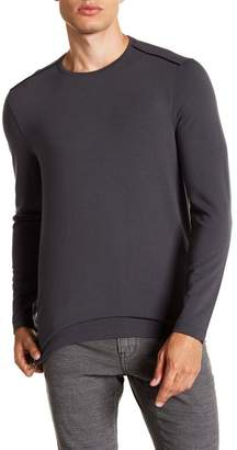 John Varvatos Crew Neck Long Sleeve Knit Shirt
