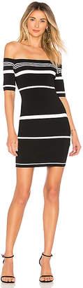 superdown Kayden Stripe Knit Dress