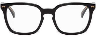 Gucci Black Shiny Logo Glasses