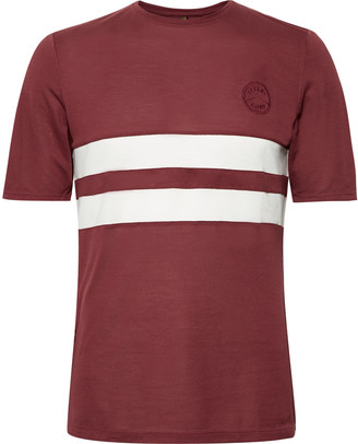 Iffley Road Cambrian Striped Drirelease Pique T-Shirt