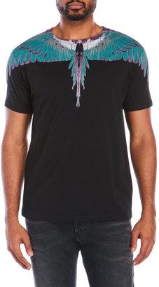 marcelo burlon Alas Green Tee Shirt $275 thestylecure.com