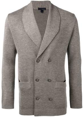 Lardini double breasted cardigan