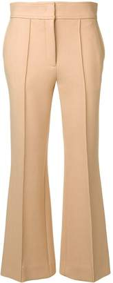 Joseph high rise cropped trousers