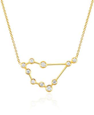 Logan Hollowell - New! Capricorn Diamond Constellation Necklace $1,455 thestylecure.com