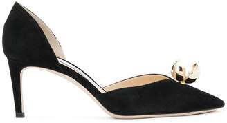 Jimmy Choo Sabine 65 pumps with oyster bead pearl