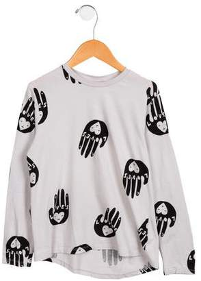 Beau Loves Girls' Long Sleeve Graphic Top