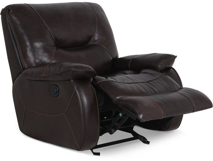 Dante Leather Power Recliner 2