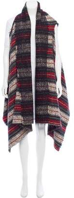 Isabel Marant Plaid Wool Vest