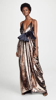 Leal Daccarett Nataly Sequin Gown