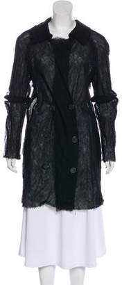 Lanvin Wool and Silk Coat