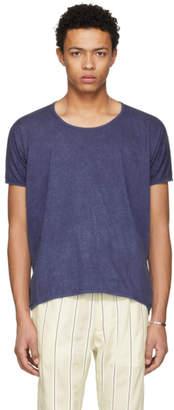 Jan-Jan Van Essche Indigo Bio Cotton T-Shirt