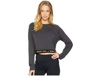 Hard Tail Logo Crop Pullover