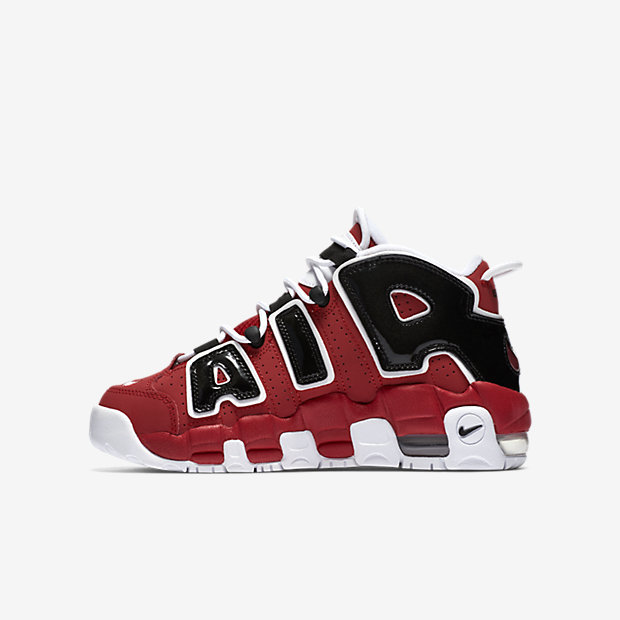 Nike Air More Uptempo Little/Big Kids' Shoe 6