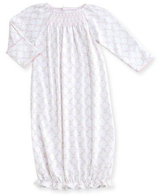 Kissy Kissy Fairy Tale Princess Floral Sleep Sack, Pink/White, Size Newborn-Small $44 thestylecure.com