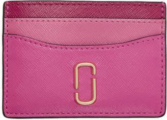 Marc Jacobs Pink Snapshot Card Holder
