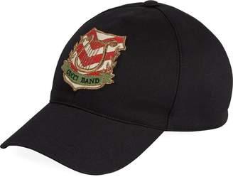 Gucci Band patch baseball cap