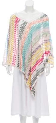 Missoni Mare Patterned Knitted Poncho