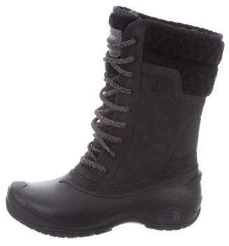 The North Face Suede Mid-Calf Boots