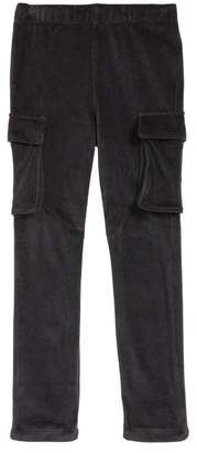 Tea Collection Velour Cargo Pants (Toddler, Little Girls, & Big Girls)