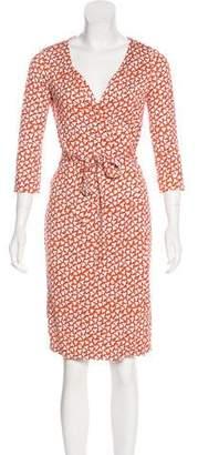 Diane von Furstenberg Printed New Julian Two Dress