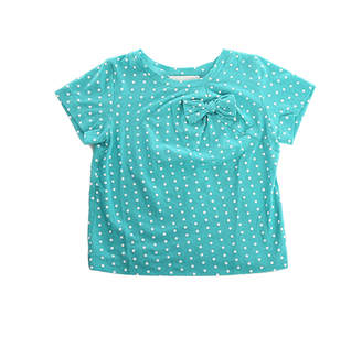 3.1 Phillip Lim Kids Raised Polka Dot Bow Tee